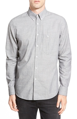 Nudie Jeans - Stanley Trim Fit Chambray Shirt