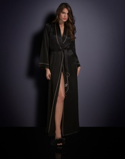 Agent Provocateur  - Classic Long Dressing Gown