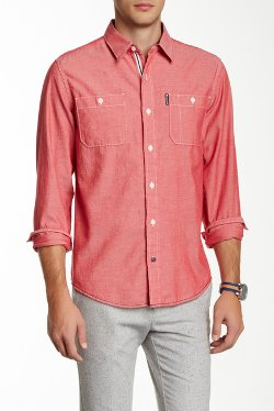 Sperry Top-Sider - Chambray Utility Shirt