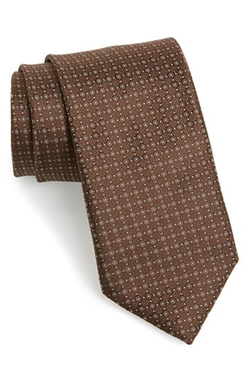 Canali - Dot Silk Tie
