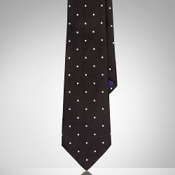 Ralph Lauren - Polka-Dot Silk Satin Tie