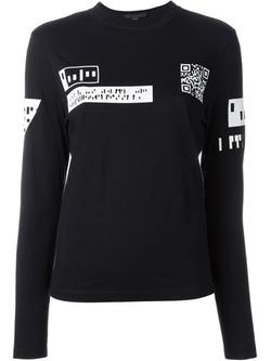 Alexander Wang - QR Code Print T-Shirt