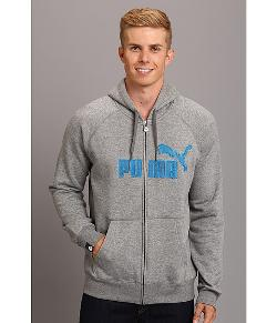 PUMA  - Full Zip Hood Sweater Fleece