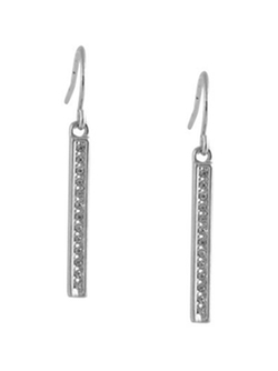 Karen Kane  - Linden Oaks Pavé Bar Earrings