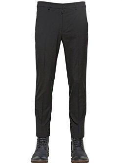 Maison Martin Margiela  - Cool Wool Tuxedo Trousers