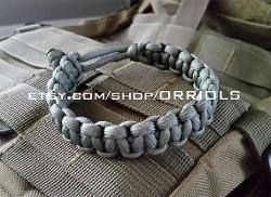 "See vendor - ""Mad Max"" paracord bracelet"