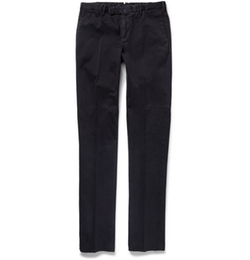 Incotex - Four Season Slim-Fit Cotton-Blend Chino Pants