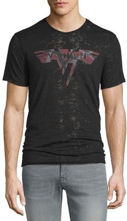 John Varvatos Star USA -  Van Halen Graphic Burnout T-Shirt