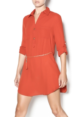 Cals - Tunic With Belt Dress