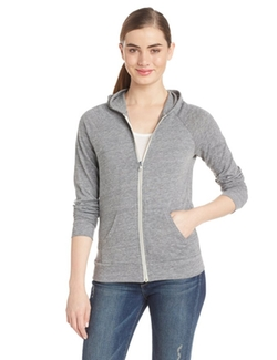 Alternative - Eco-Jersey Relay Raglan Zip-Front Hoodie