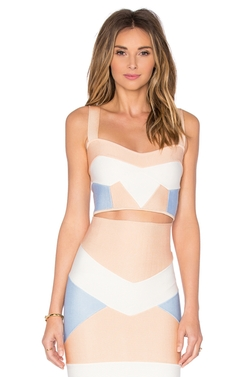 Lolitta - Bandage Tri Color Crop Top