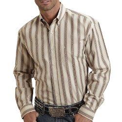 Stetson  - Sanded Dobby Stripe Shirt