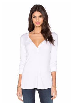 Twenty - Perfect Rib Henley Shirt