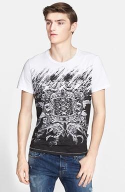 Just Cavalli  - Metallic Print T-Shirt