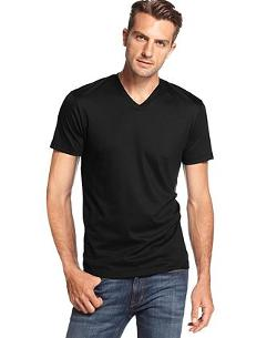 Michael Kors  - Liquid Jersey V-neck T-shirt