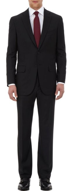 Isaia  - Aquaspider Base Two Button Suit