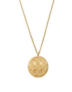 Michael Kors - Monogram Pendant Necklace