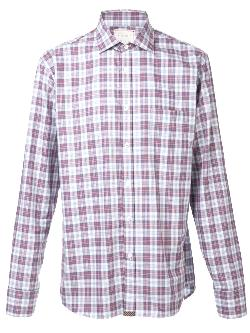 BILLY REID  - plaid button down shirt