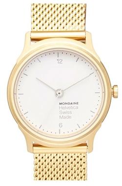 Mondaine - Mesh Strap Watch