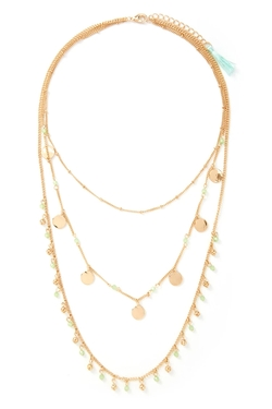 Forever 21 - Layered Tassel Necklace