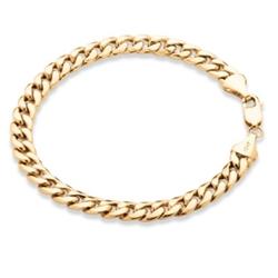 PalmBeach Jewelry - Curb-Link Bracelet