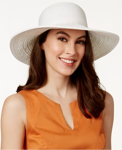 Nine West  - Mixed Packable Floppy Hat