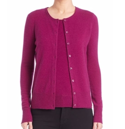 Saks Fifth Avenue Collection - Cashmere Button-Front Cardigan