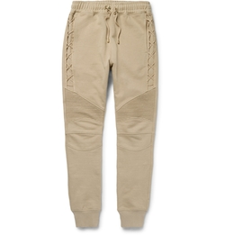 Balmain - Cotton-Jersey Sweatpants