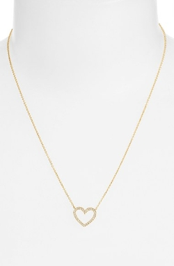 Nadri - Boxed Heart Pendant Necklace