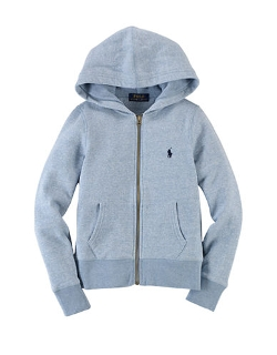 Ralph Lauren Children-wear  - Cotton-Blend Fleece Hoodie jacket