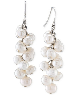 Carolee  - Freshwater Pearl Cluster Earrings