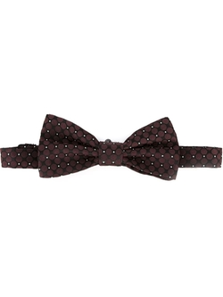 Dolce & Gabbana   - Dot Embroidered Bow Tie