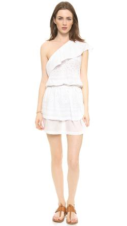 Rebecca Minkoff  - Beach One Shoulder Dress
