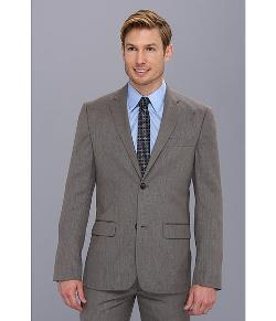 Perry Ellis - Slim Fit Textured Solid Suit Jacket