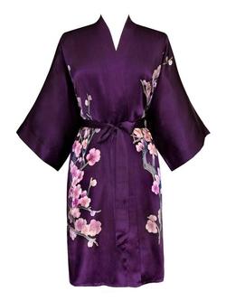 Old Shanghai - Silk Kimono Robe