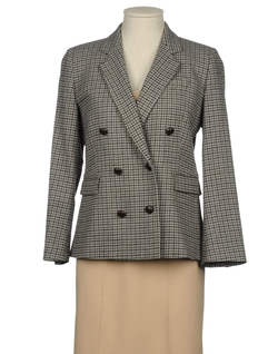 Band Of Outsiders - Lapel Collar Double Breasted Jacket