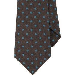 KITON  - Polka Dot Neck Tie