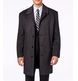 London Fog - Coventry Wool-Blend Overcoat