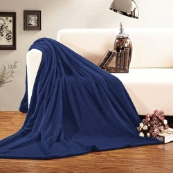 Spirit Linen - Full Queen Plush Fleece Blanket