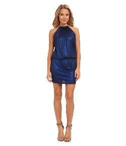 Jessica Simpson  - Bungee Neck Blouson Dress
