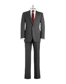 LAUREN RALPH - Classic Fit Wool Pant Suit
