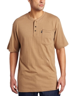 Key Apparel - Heavyweight Three-Button Henley Shirt