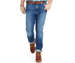 Polo Ralph Lauren - Hampton Straight-Fit Cedar-Wash Jeans
