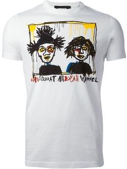 Dsquared2 - Dean And Dan Print T-Shirt