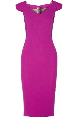 Roland Mouret - Atria Wool-Crepe Dress