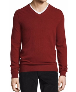 Vince - Cashmere Long-Sleeve V-Neck Sweater