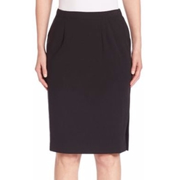 Eileen Fisher - Pleated Pencil Skirt