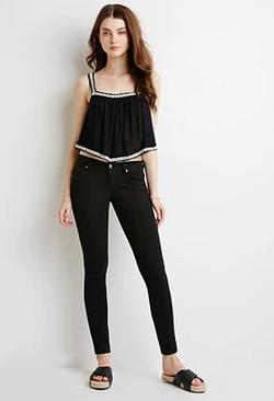 Forever 21 - Classic Solid Skinny Jeans
