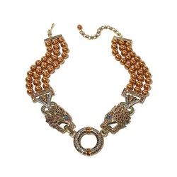 Heidi Daus - Beaded Crystal Bib Necklace