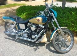 Harley-Davidson - 1998 Dyna Wide Glide Motorcylcle Cruiser